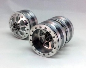 2.2 Dually RC Wheel sets